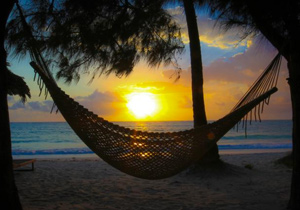 Sansibar Abendsonne